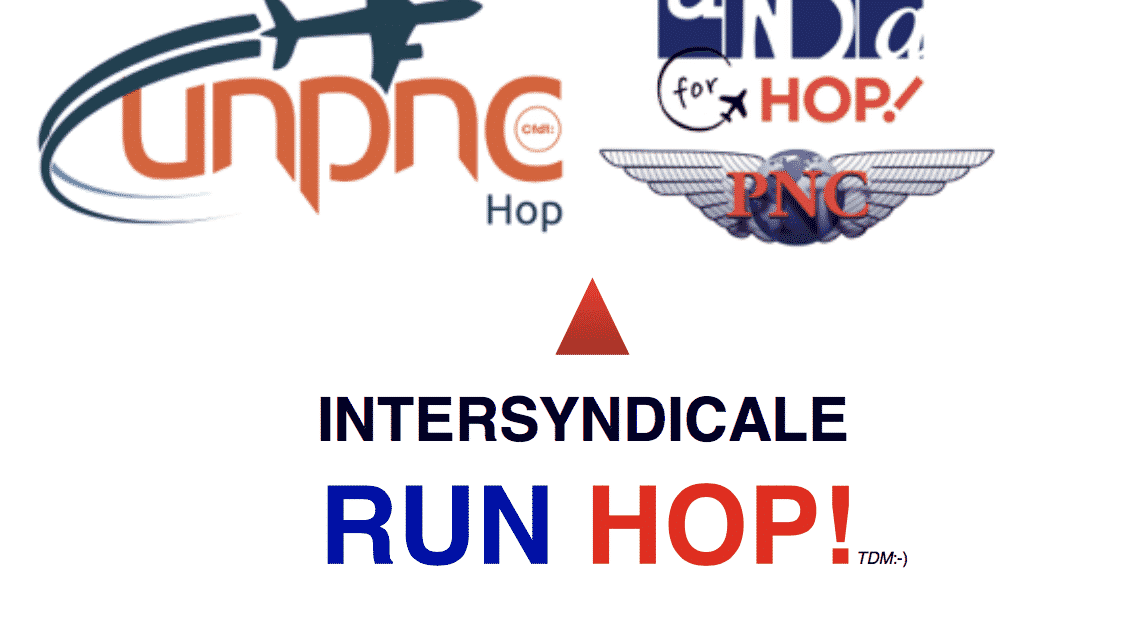 Intersyndicale RUN HOP! or RUN OFF ?