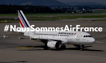 #NousSommesAirFrance