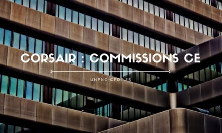 CORSAIR : COMMISSIONS CE