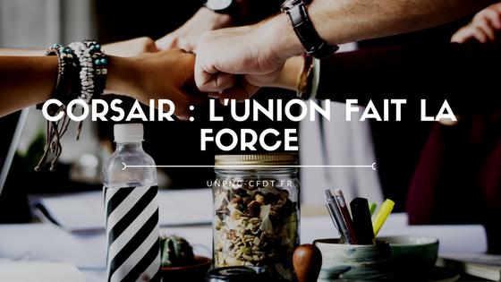 CORSAIR : L'UNION FAIT LA FORCE