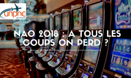 NAO 2018 : A TOUS LES COUPS ON PERD ?