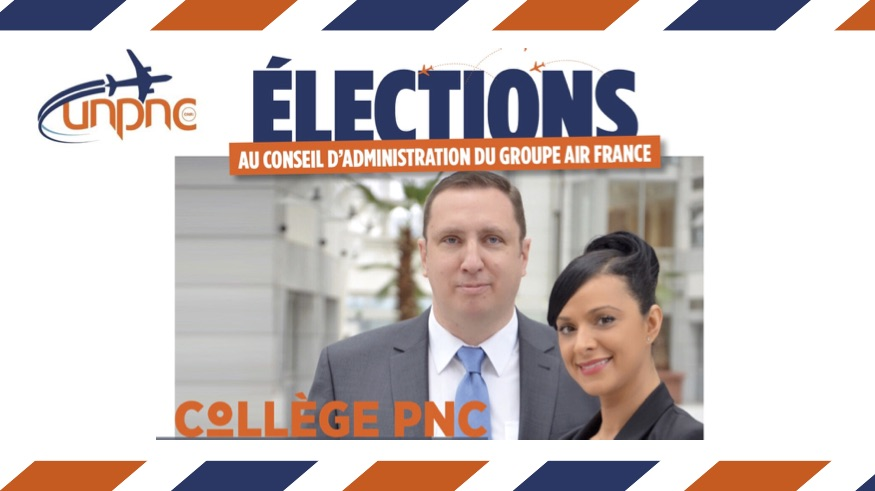 ÉLECTIONS AU CONSEIL D'ADMINISTRATION DU GROUPE AIR FRANCE