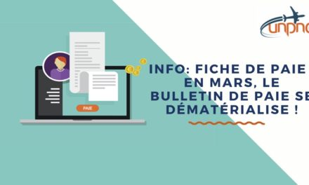 Info: fiche de paie : en mars, le bulletin de paie se dématérialise !