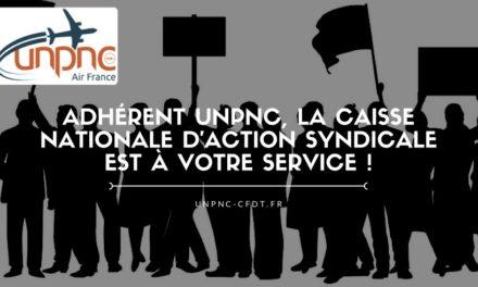 Adhérent UNPNC, la Caisse Nationale d'Action Syndicale est à votre service !