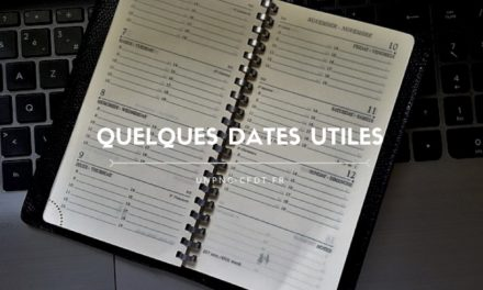 Quelques dates utiles