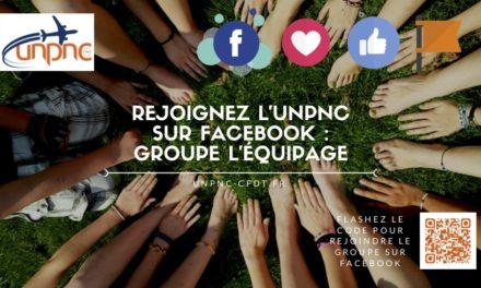 Rejoignez-nous sur le groupe facebook l'équipage