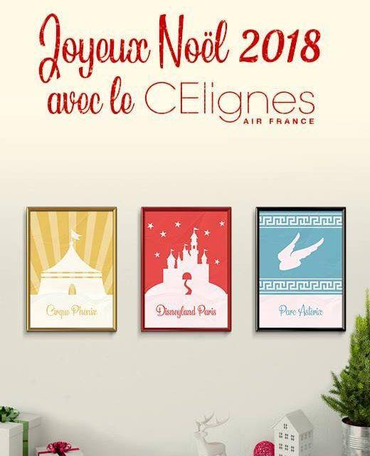 Les inscriptions aux soirées de Noël du CE Lignes sont ouvertes :