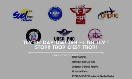 TLV EN DAY USE! 36h –> 12h TLV ! STOP!! TROP C'EST TROP!