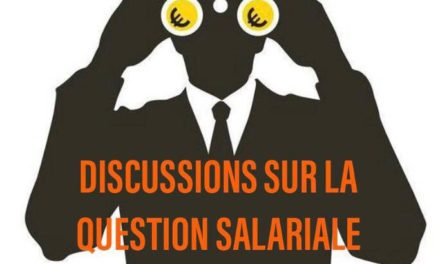 Discussions sur la question salariale