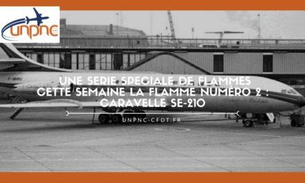 Cette semaine la flamme numéro 2 : CARAVELLE SE-210