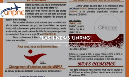 Flash news UNPNC