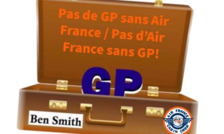PAS DE GP SANS AIR FRANCE / PAS D'AIR FRANCE SANS GP !