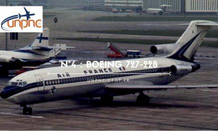 Cette semaine la flamme numéro 4 : BOEING 727-228