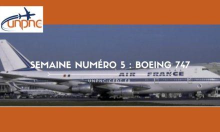 Semaine numéro 5 : Boeing 747