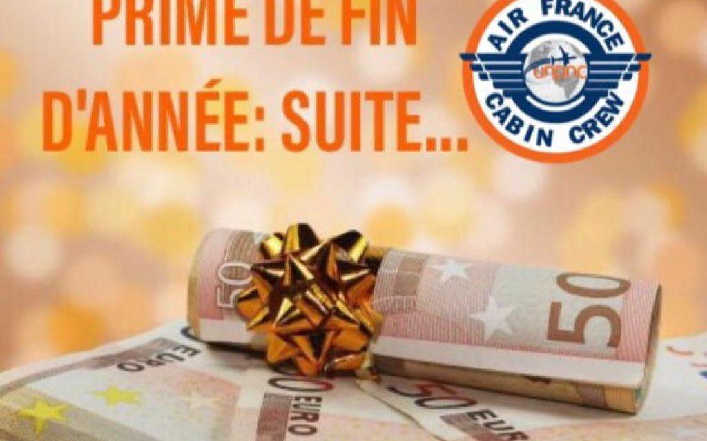 PRIME DE FIN D'ANNEE: SUITE…