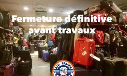 Info : Salle Dépose Bagages départ