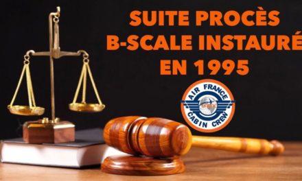 Suite procès B-Scale