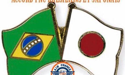 Un accord a été trouvé pour le PNC Brésilien et Japonais