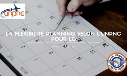 PLANNING À LA CARTE ? MAKE A WISH… LA FLEXIBILITÉ PLANNING SELON L'UNPNC POUR LC