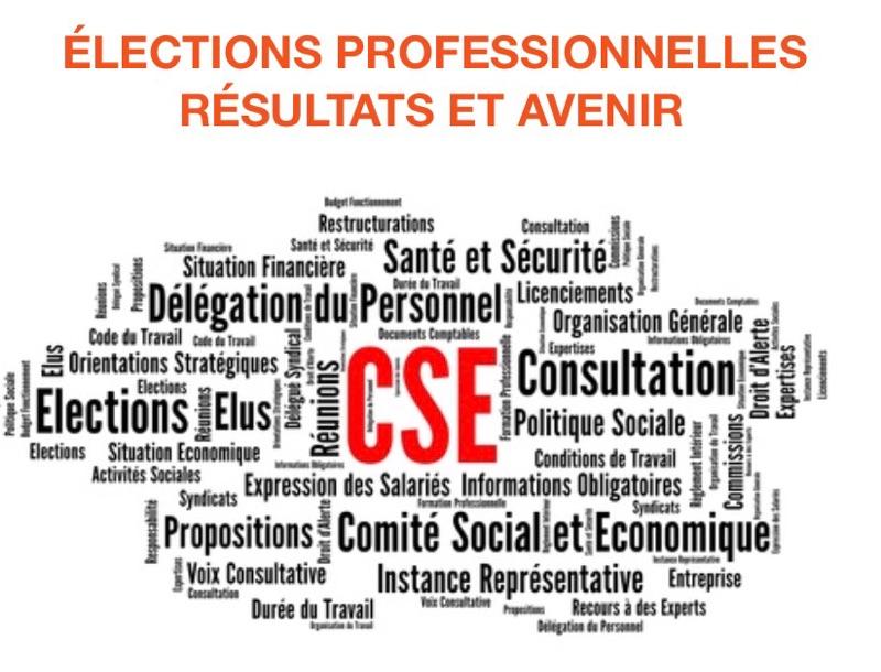 ÉLECTIONS PROFESSIONNELLES : Résultats et Avenir