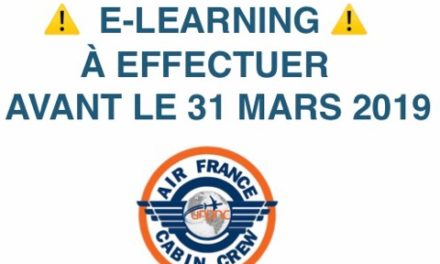 ⚠️ E-LEARNING À EFFECTUER AVANT LE 31 MARS 2019 ⚠️