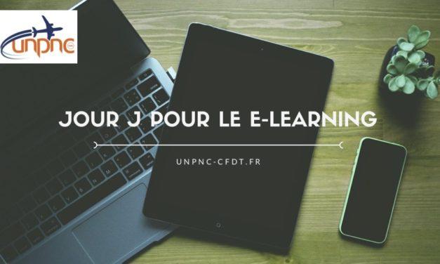 Jour j pour le E-learning