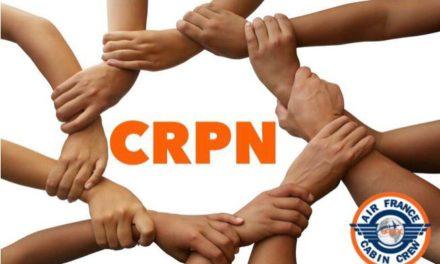 Réforme CRPN : première réunion Avec la Direction