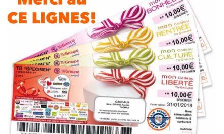 Bon à savoir : des chèques cultures d'une valeur de 120€ à partir du 20 juin