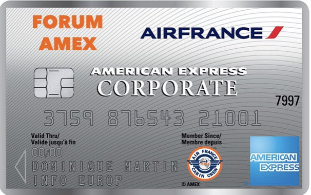 Notre carte AMEX CORPORATE évolue.