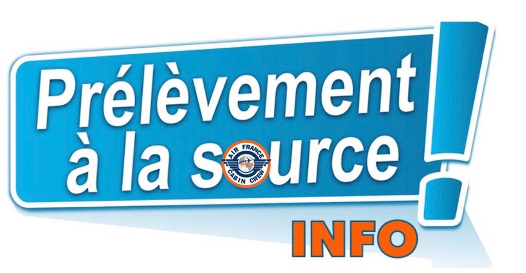 📌BULLETIN INFO: Prélèvement à la source – Actualisation de votre taux de prélèvement❗️