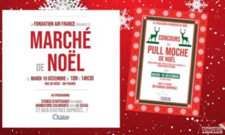 🎁 Le traditionnel Marché de Noël de la Fondation Air France 🎁