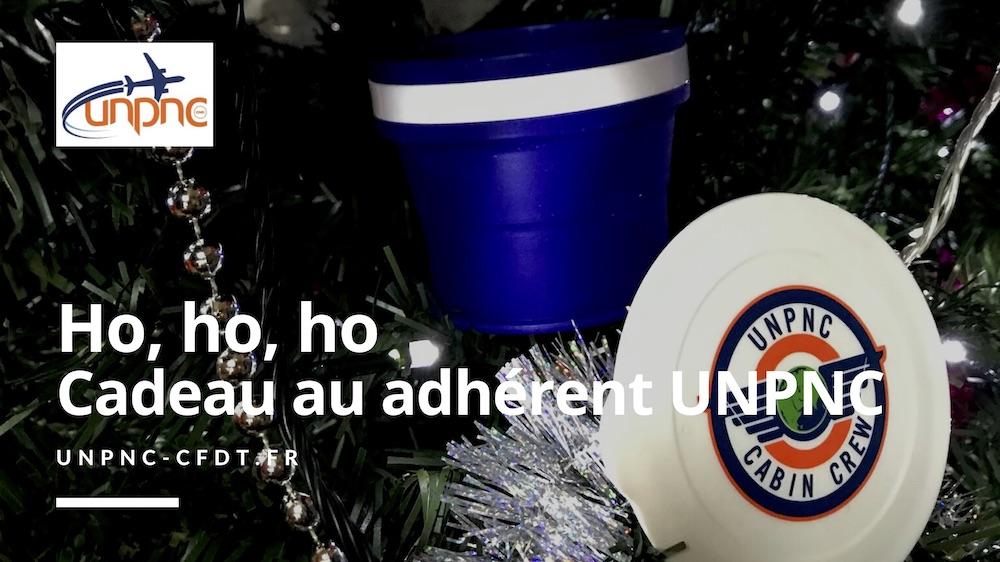 Ho Ho Ho, Cadeau au adhérent UNPNC