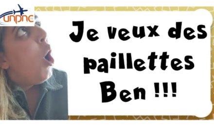 """""""Je veux des paillettes Ben ! """""""