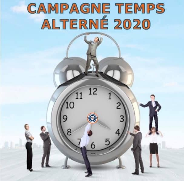 CAMPAGNE TEMPS ALTERNE 2020
