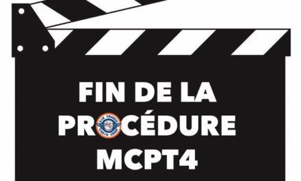 📌FIN DE LA PROCÉDURE MCPT4 LE 1er JUILLET❗