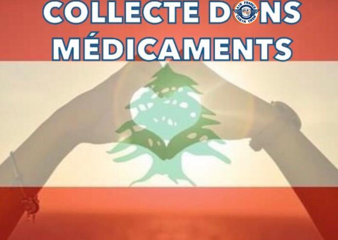 📌 SOLIDARITÉ AU LIBAN l COLLECTE DE MEDICAMENT❗️
