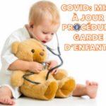 📌 MISE À JOUR PROCÉDURE GARDE D'ENFANTS ❗️