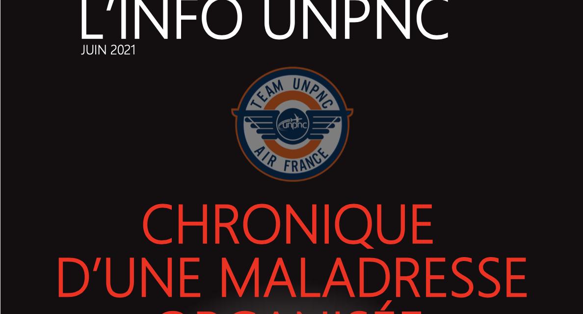 PERSPECTIVES – L'info UNPNC : Chronique d'une maladresse organisée
